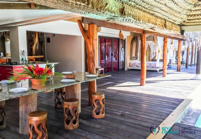Villa in Tiahura - MOOREA - Villa Tiahura Dream