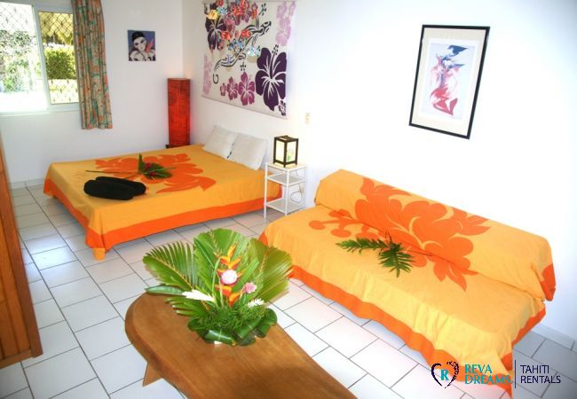 Villa in Tiahura - MOOREA - Villa Kahaia Beach 19 pax