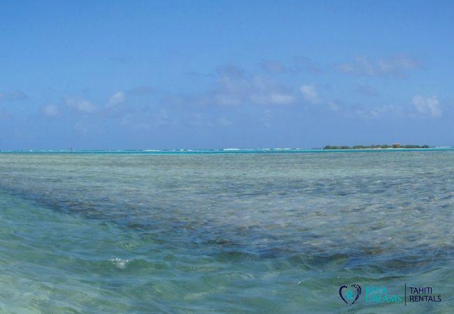 Beach - Villa Kahaia Beach - Vacation Rental - Moorea