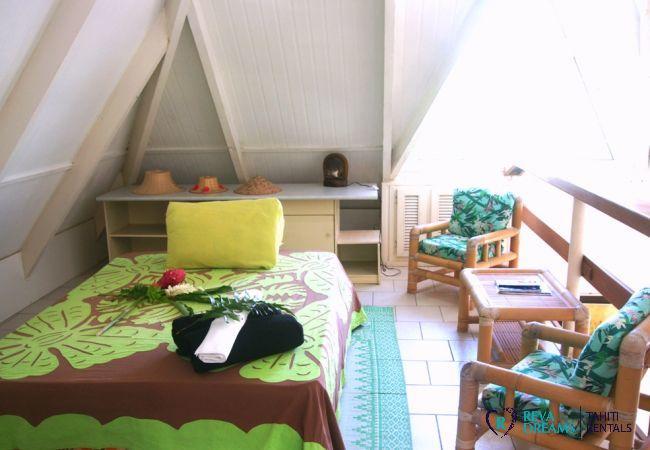 Mezzanine - Villa Kahaia Beach - Vacation Rental - Moorea