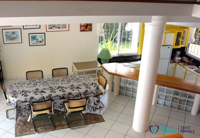 Dining room - Villa Kahaia Beach - Vacation Rental - Moorea