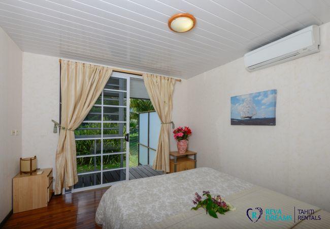 House in Papara - TAHITI - Fare Taharuu Tearii (côté jardin)