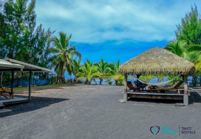 House in Papara - TAHITI - Fare Taharuu Teava (bord de mer)