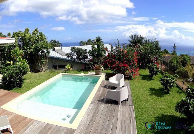 Villa in Punaauia - TAHITI - Villa Te Ra'i Tei Tei