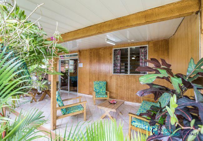 Apartment in Huahine-Nui - HUAHINE - Appartement Auti Nui