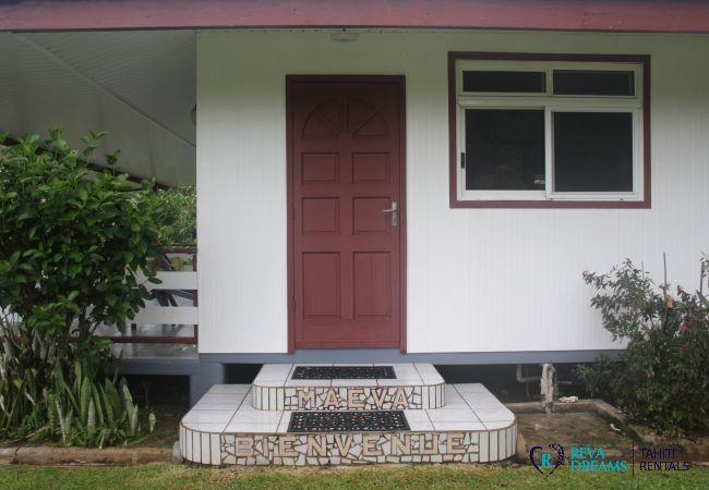 House in Huahine-Nui - HUAHINE - Fare Mana