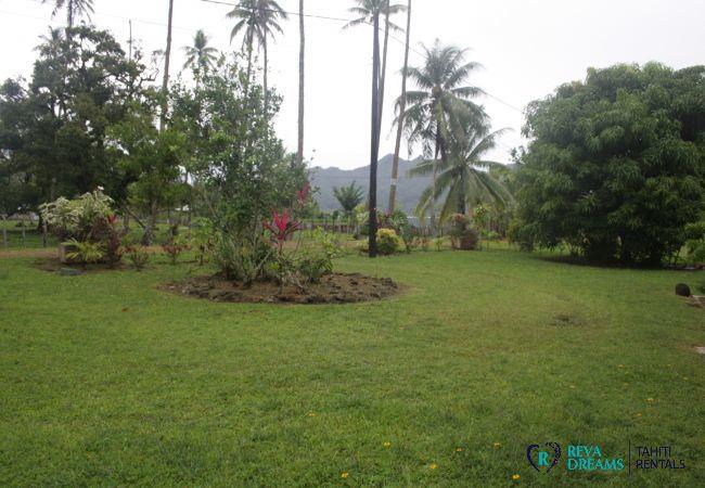 House in Huahine-Nui - HUAHINE - Fare Hironui