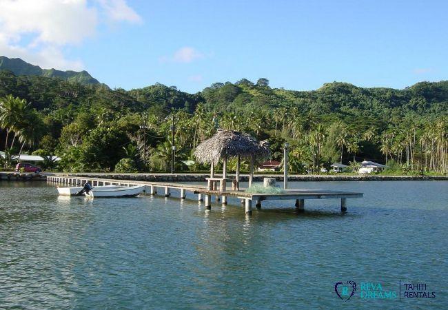 House in Huahine-Nui - HUAHINE - Fare Moana