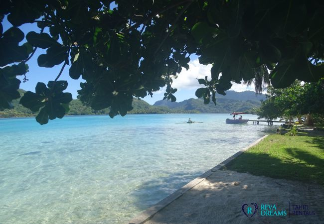 Bungalow in Huahine-Iti - HUAHINE - Motu Bungalow