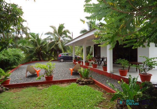 House in Huahine-Nui - HUAHINE - Fare Moana A/C