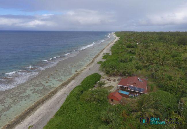 House in Motu Piti A'au - BORA - Fare Motu