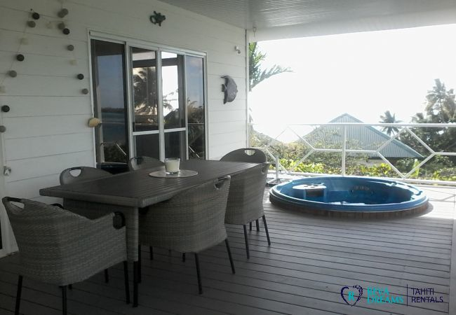 House in Huahine-Iti - HUAHINE - Blue Lagoon House
