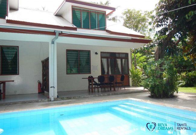 House in Huahine-Nui - HUAHINE - Fare Tiareiti