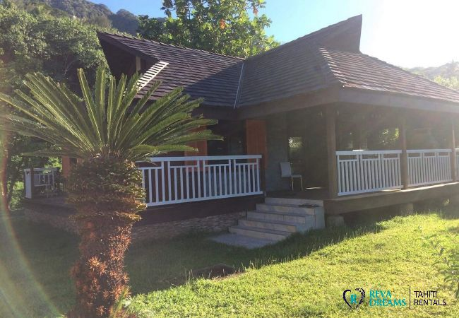 House in Maatea - MOOREA - Fare O'Mana Dream