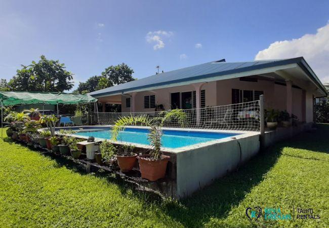 House in Taiarapu-Ouest - TAHITI - Fare Makena