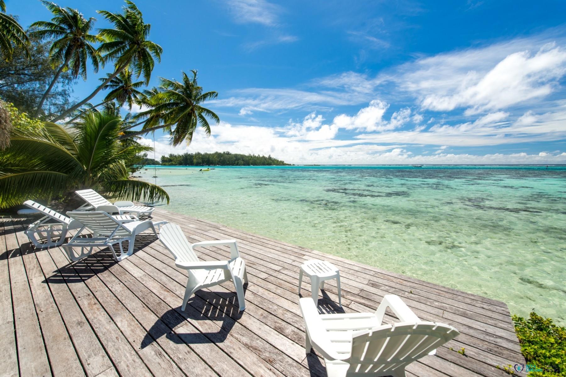 Villa Teareva Dream, location de vacances en Polynésie Française,séjours de rêve à Moorea