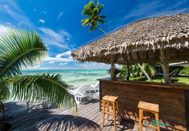 Fare Pote'e à la Villa Teareva Dream, vacances de rêve sur l'île de Moorea en Polynésie Française