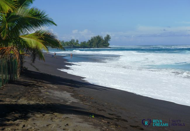 Maison à Papara - TAHITI - Fare Taharuu Teava (bord de mer)