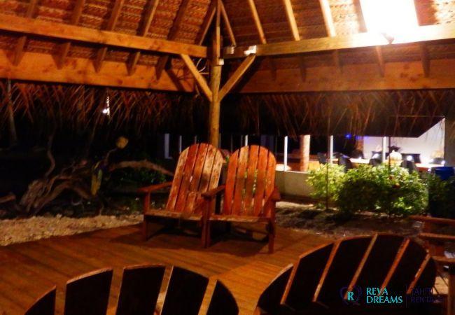 Terasse - Motu Fafarua - Tahiti In Style - Polynésie française