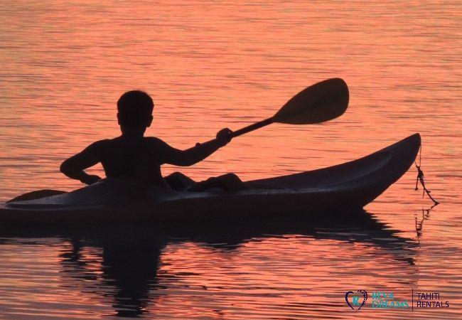 Kayak - Motu Fafarua - Tahiti In Style - Polynésie française