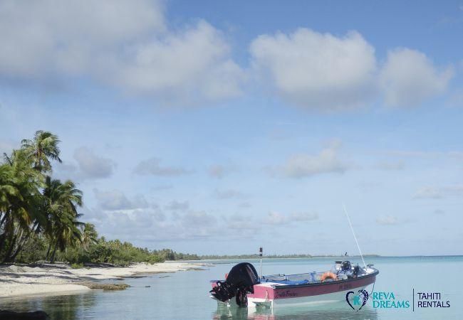 Bateau - Motu Bora Bora - Tahiti In Style - Polynésie française