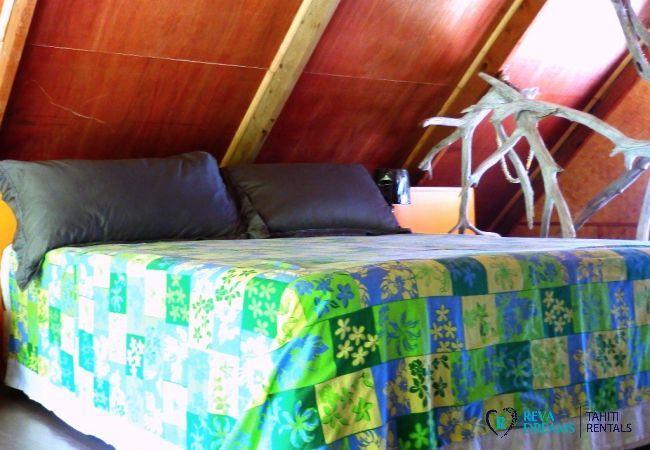 Chambre - Motu Fafarua - Tahiti In Style - Polynésie française