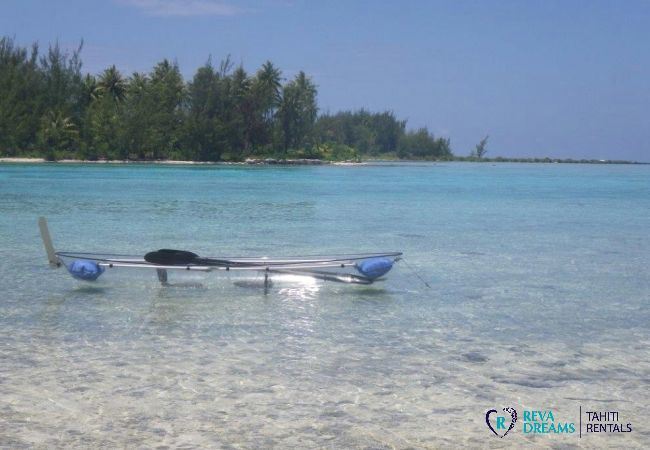 Kayak - Motu Bora Bora - Tahiti In Style - Polynésie française
