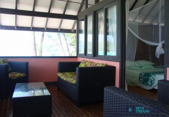 Salon - Motu Bora Bora - Tahiti In Style - Polynésie française
