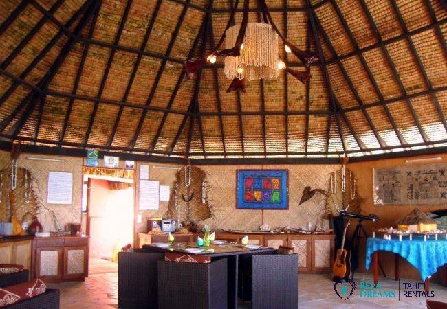 Salle à manger - Motu Bora Bora - Tahiti In Style - Polynésie française