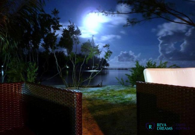 Plage de nuit - Motu Bora Bora - Tahiti In Style - Polynésie française