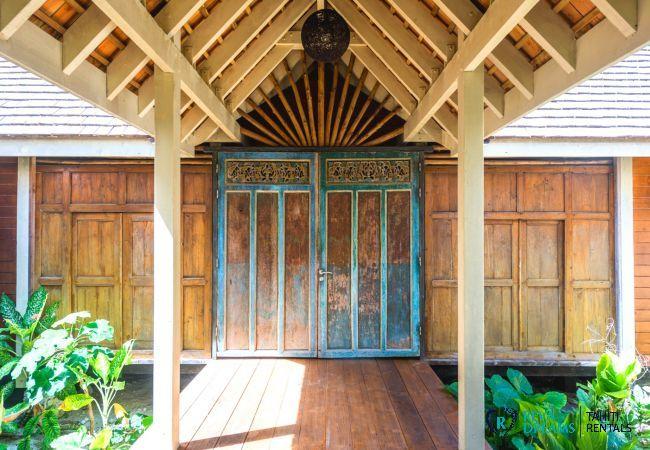 Villa à Temae - MOOREA - Villa Miki Miki Dream