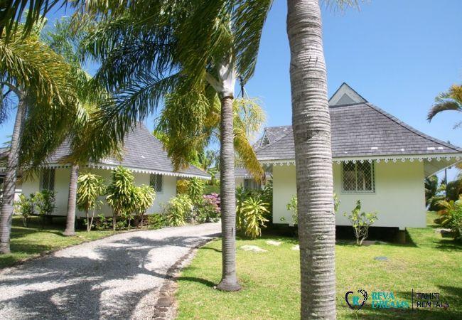 Bungalow à Tiahura - MOOREA - Villa Kahaia Beach 5 pax