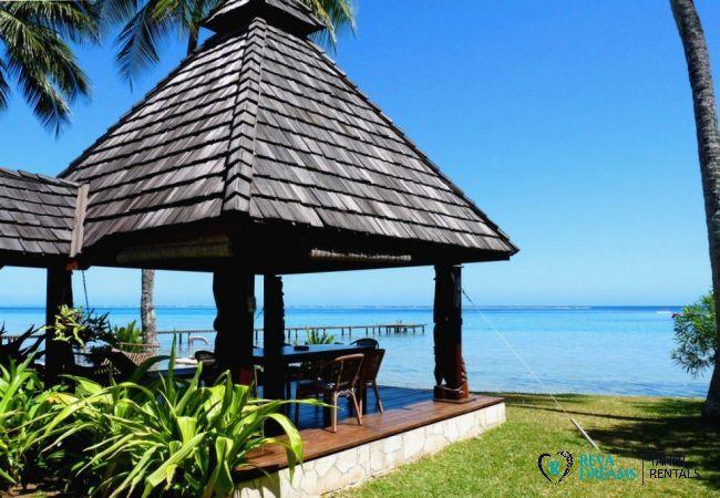 Fare pote'e - Villa & fare Mata'i - Villa Poerani - Moorea - Tahiti In Style - Polynésie française