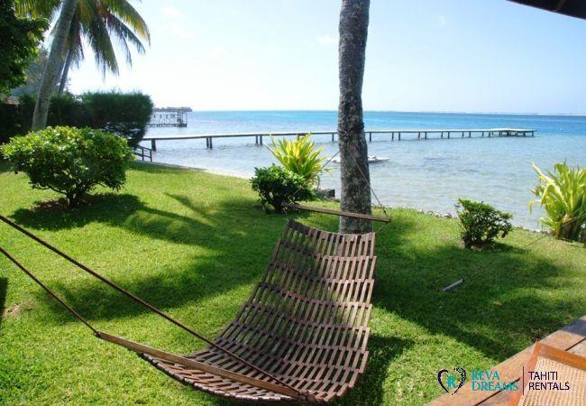 Jardin - Villa & fare Mata'i - Villa Poerani - Moorea - Tahiti In Style - Polynésie française