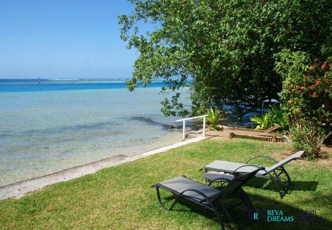 Accès mer - Villa & fare Mata'i - Villa Poerani - Moorea - Tahiti In Style - Polynésie française