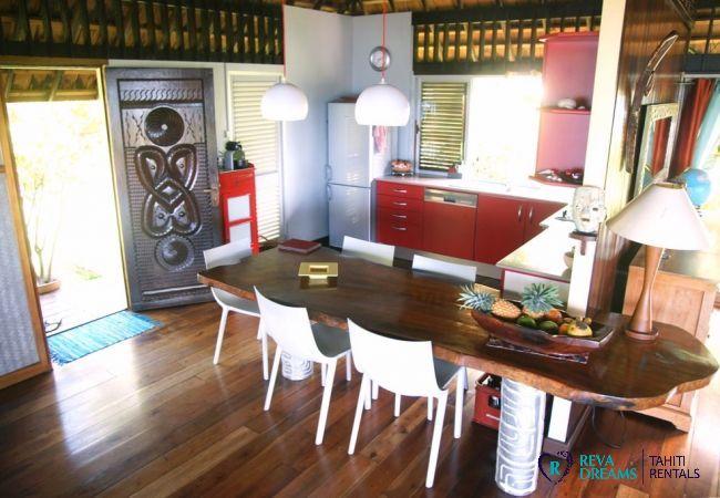 Cuisine - Villa & fare Mata'i - Villa Poerani - Moorea - Tahiti In Style - Polynésie française
