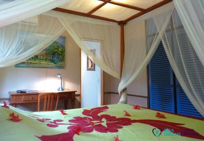Chambre Ra'i - Villa & fare Mata'i - Villa Poerani - Moorea - Tahiti In Style - Polynésie française