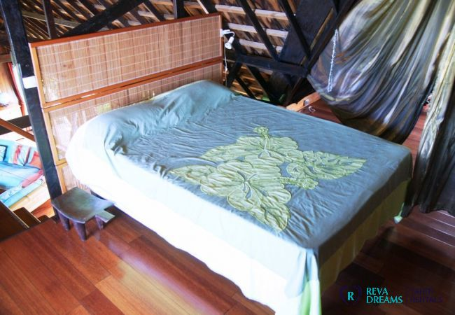 Mezzanine - Villa & fare Mata'i - Villa Poerani - Moorea - Tahiti In Style - Polynésie française
