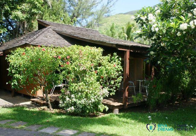 Vue du fare Mata'i - Villa & fare Mata'i - Villa Poerani - Moorea - Tahiti In Style - Polynésie française