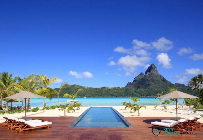Villa à Motu Piti A'au - BORA - Villa Deluxe Bora Bora