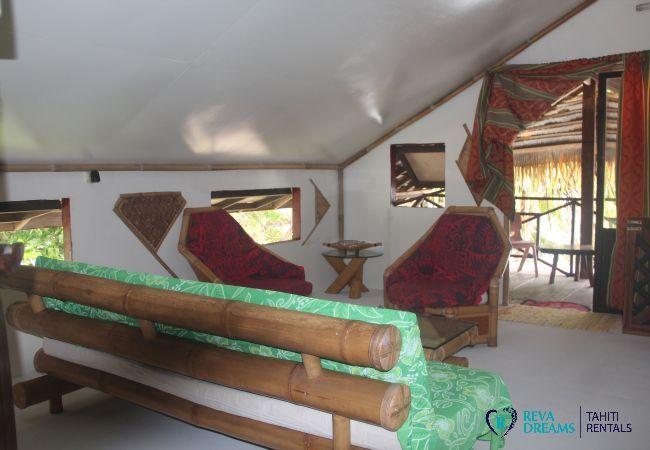 Bungalow à Huahine-Iti - HUAHINE - Fare Tuhani