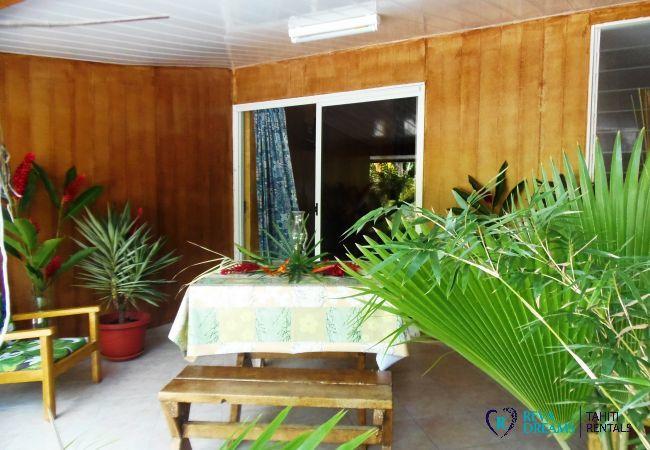 Studio à Huahine-Nui - HUAHINE - Studio Monoï Iti