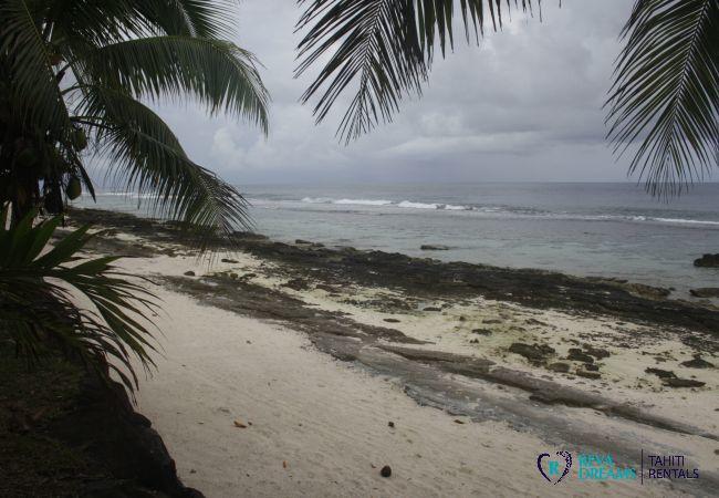 Bungalow à Huahine-Nui - HUAHINE - Fare Auroa
