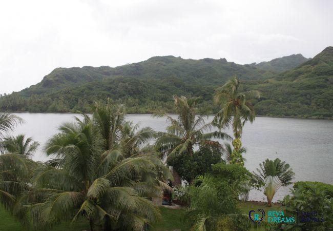 Appartement à Huahine-Iti - HUAHINE - Apoomatai Bay Garden