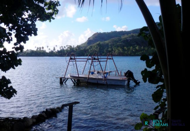 Bungalow à Huahine-Iti - HUAHINE - Apoomatai Bay Bungalow