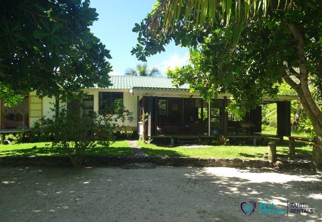 Villa à Huahine-Iti - HUAHINE - Motu House