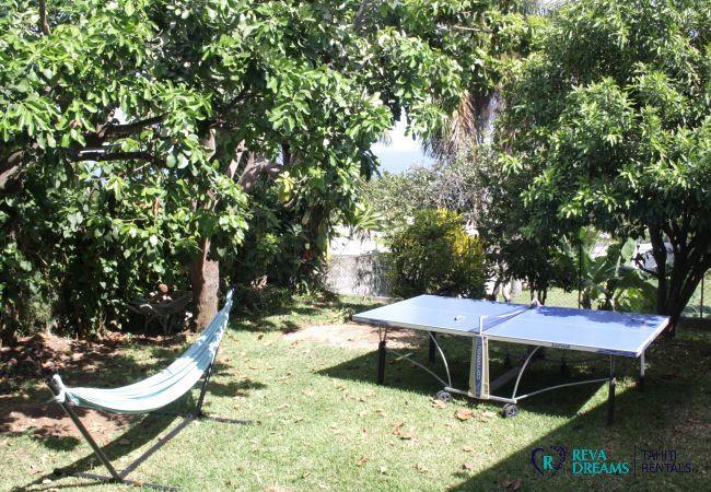Villa à Punaauia - TAHITI - Villa Te Ra'i Tei Tei