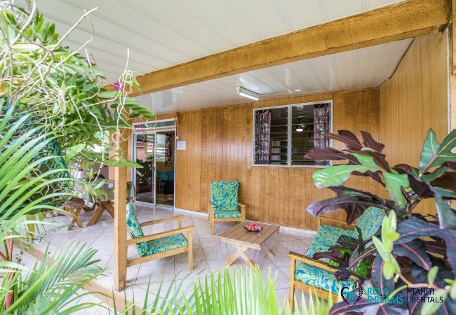 Appartement à Huahine-Nui - HUAHINE - Appartement Auti Nui