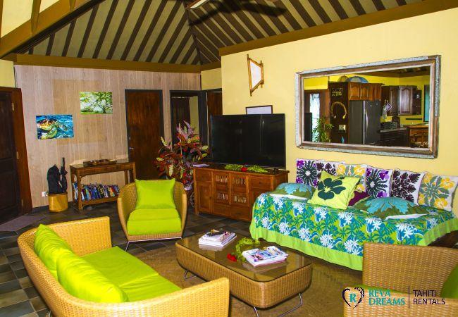 Maison à Motu Piti A'au - BORA - Fare Matira