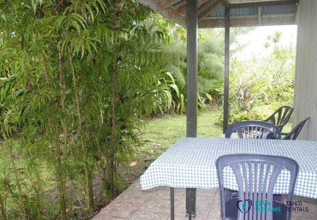 Bungalow à Huahine-Nui - HUAHINE - Fare Tahatai